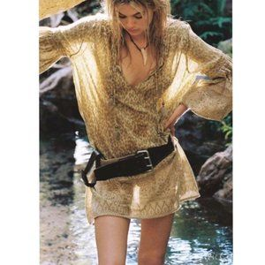 Spell & the Gypsy Wild Thing Tunic Dress Mustard S